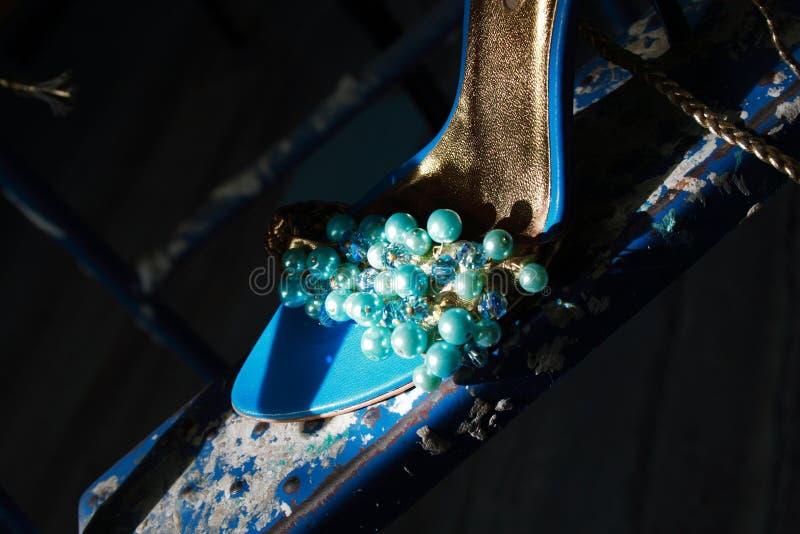 Sapata da Cinderella fotografia de stock