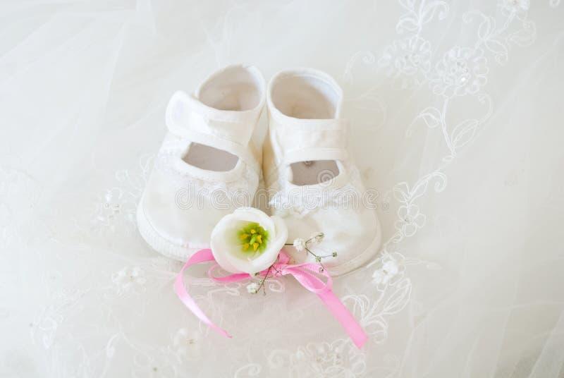 Sapata de bebê imagens de stock royalty free