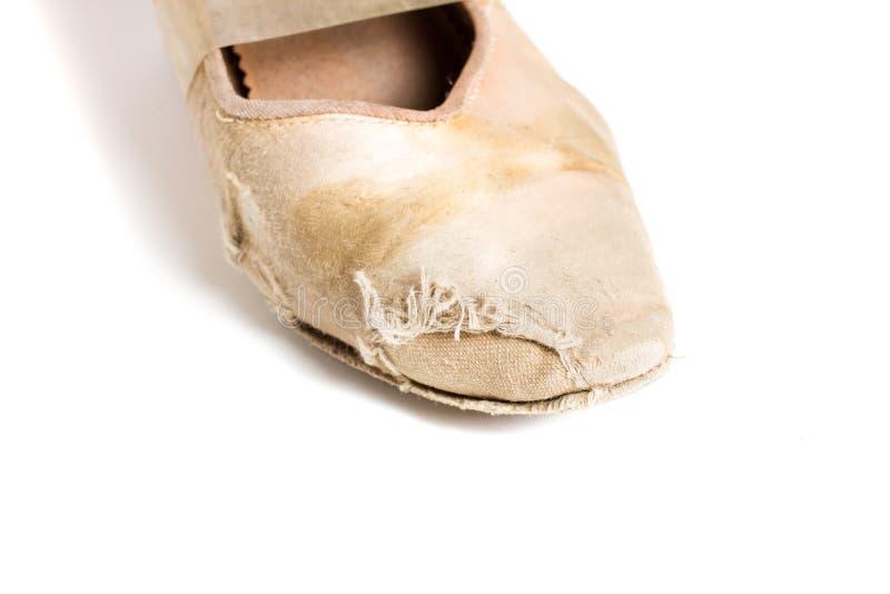 Sapata latino da dança de salão de baile imagem de stock royalty free