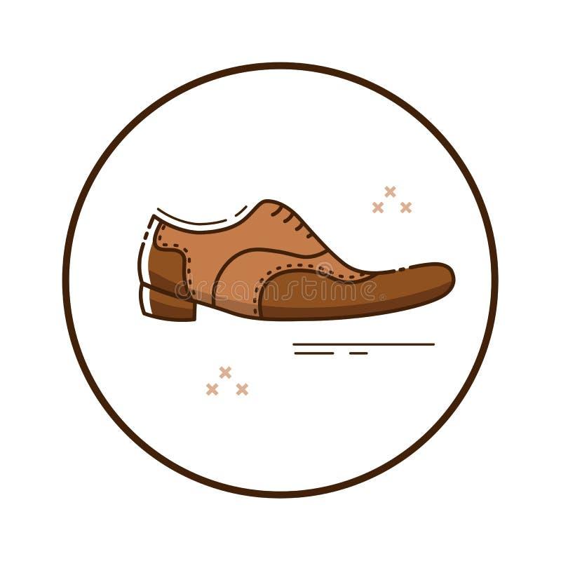 Sapatas ilustração stock