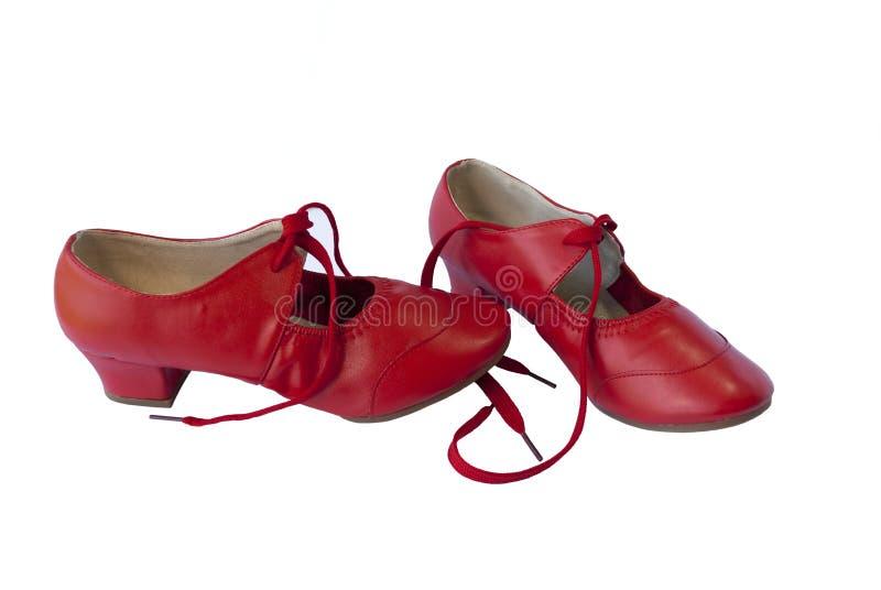Sapatas da dança para a dança de salão de baile foto de stock