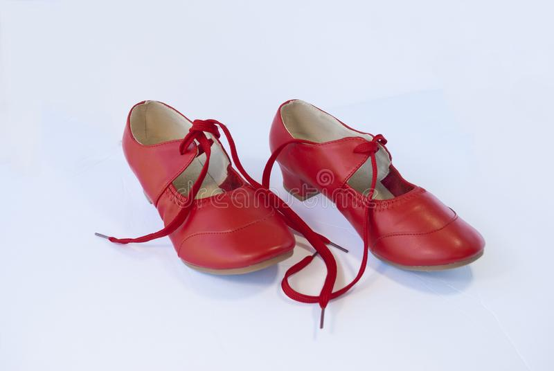 Sapatas da dança para a dança de salão de baile fotos de stock