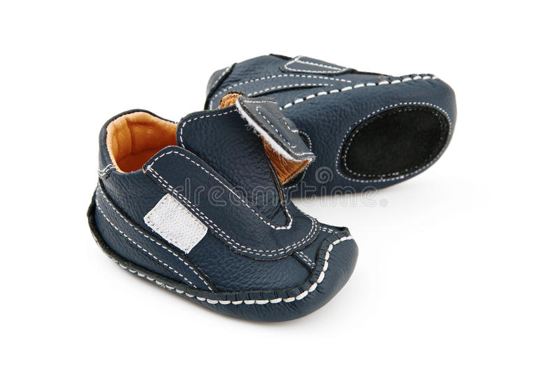 Sapatas de bebê imagens de stock royalty free
