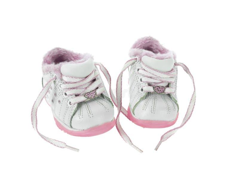 Sapatas de bebê relaxadas imagem de stock royalty free