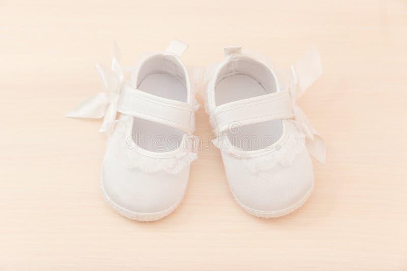 Sapatas do bebê imagens de stock royalty free