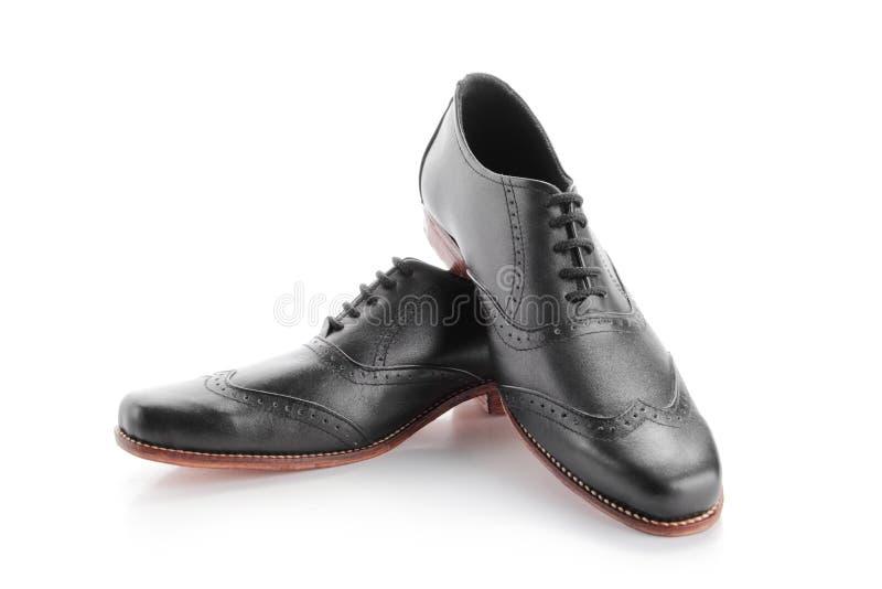 Sapatas do cavalheiro foto de stock royalty free