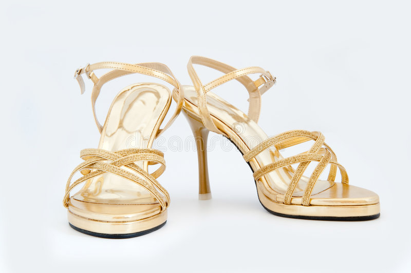 Sapatas High-heeled fotos de stock royalty free