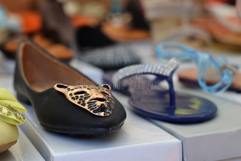 Sapatas no mercado em Itália fotos de stock royalty free