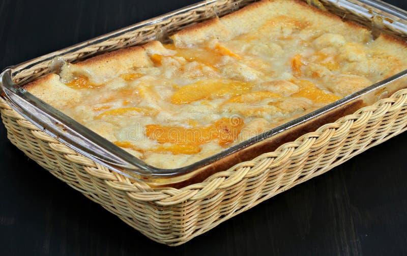 Sapateiro de pêssego quente fresco imagem de stock royalty free