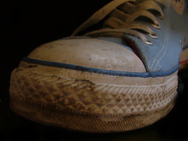 Download Sapatilhas foto de stock. Imagem de azul, lona, sapatas - 530392
