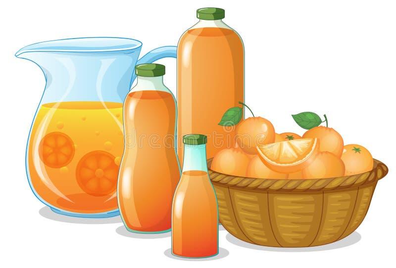 Sapdrank stock illustratie