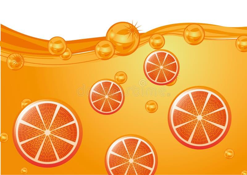 Sapfruit stock illustratie
