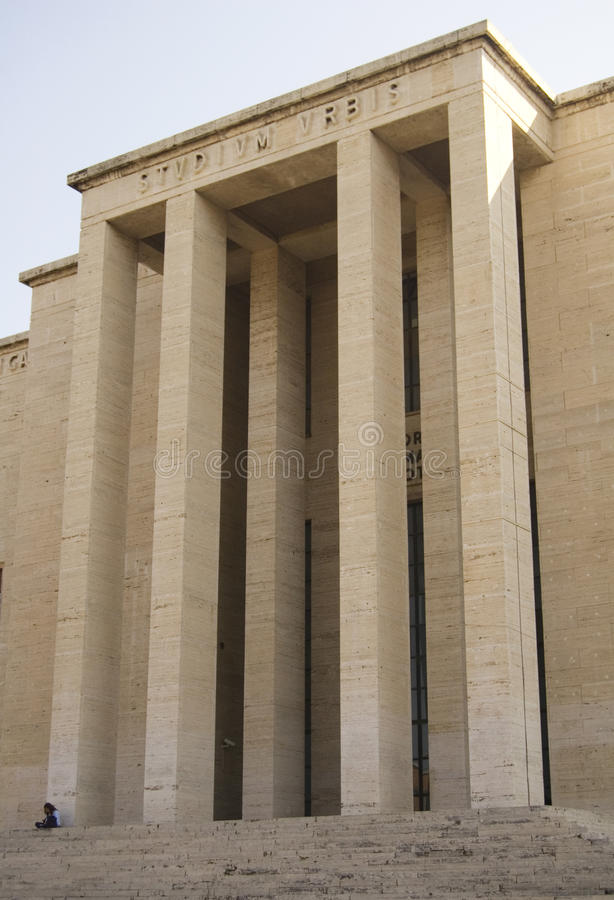 Download Sapienza University Rome Building Facade Stock Image - Image of design, university: 14916969
