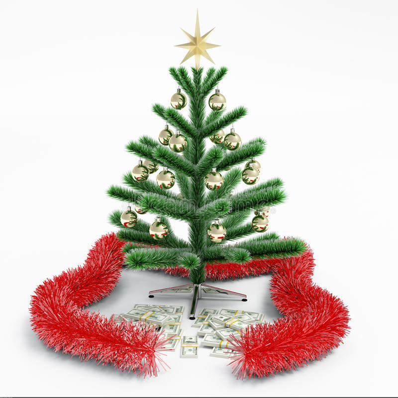 Sapin d'argent illustration stock