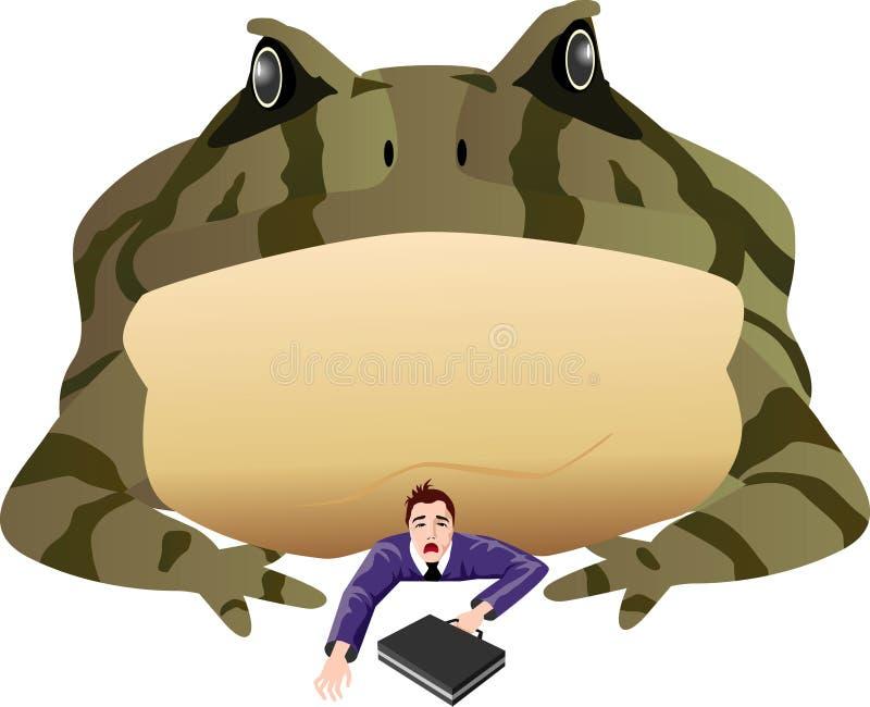 Sapo ilustração do vetor