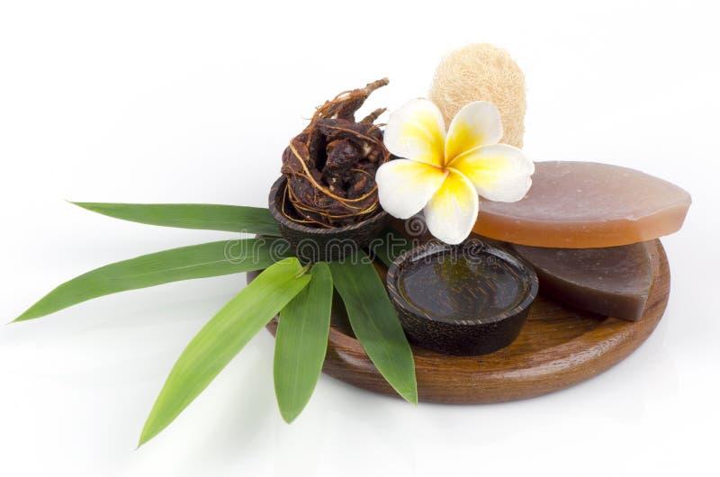 Sapone del miele del tamarindo. Saponi naturali a pelle sana. fotografie stock libere da diritti