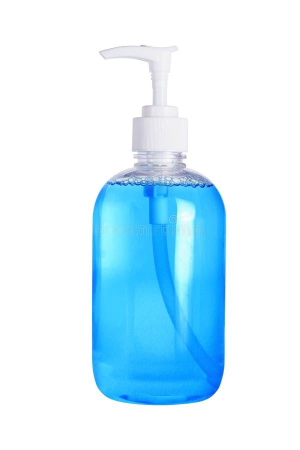 Sapone liquido del prodotto disinfettante della mano immagine stock