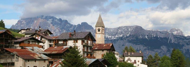 Sappade - Alpes - Dolomiti - l'Italie photo stock