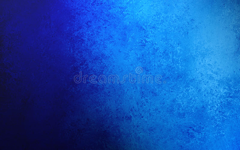 Sapphire blue background with grunge texture design stock photography