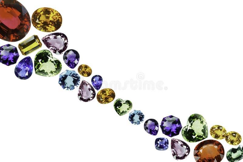 Sapphire Jewel royalty-vrije stock afbeeldingen