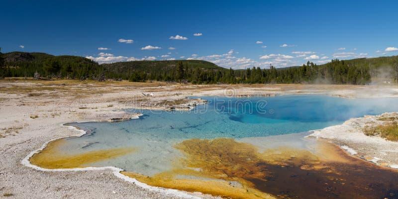Sapphire Pool am Keks-Becken stockbilder