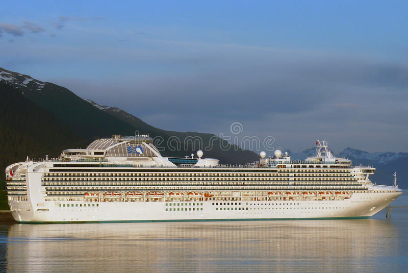 Sapphire Princess stock photography