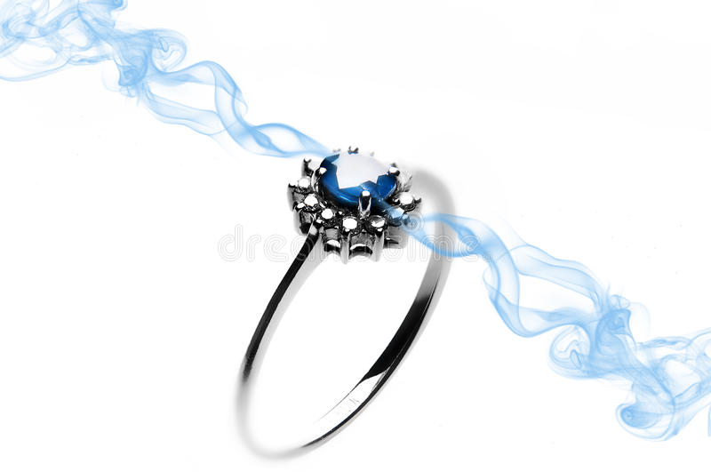 Download Sapphire Ring stock image. Image of expensive, proposal - 29877945
