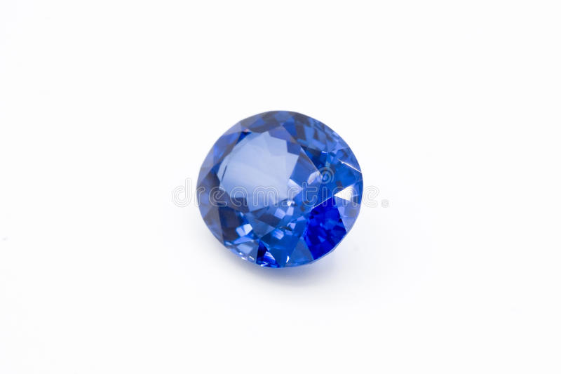 Sapphire on white background, Blue sapphire Blue gems, Gem, Blue stock photography