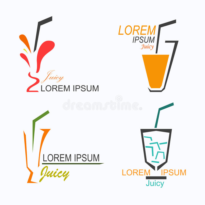Sappig embleem vector illustratie