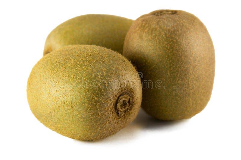 Sappig kiwifruit dat op witte achtergrond wordt geïsoleerd royalty-vrije stock afbeeldingen