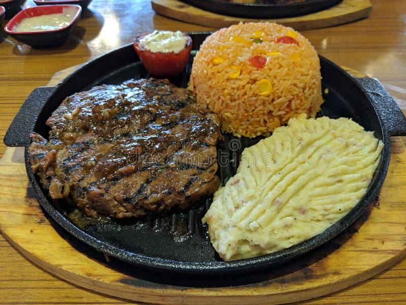 Sappig lapje vlees stock fotografie