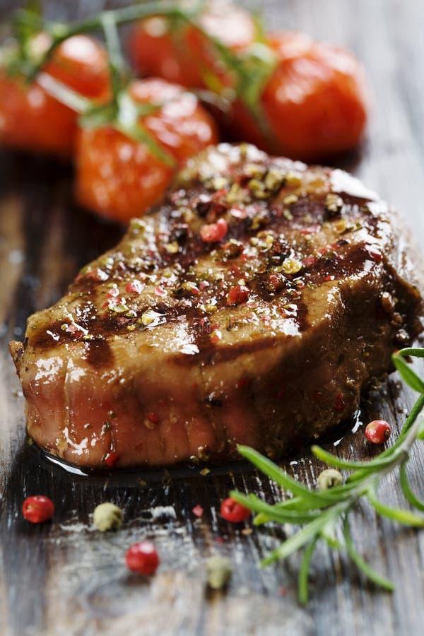 Sappig rundvlees royalty-vrije stock afbeeldingen