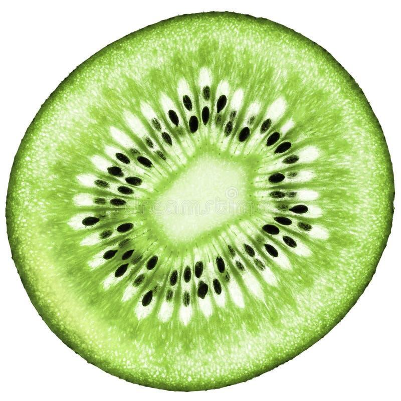 Sappige organische Kiwifruit geïsoleerde samenstelling royalty-vrije stock afbeelding