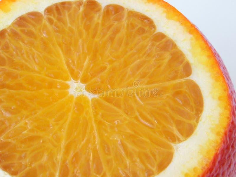 Sappige sinaasappel stock fotografie