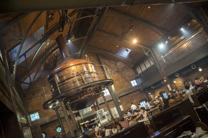 Sapporo Beer Company Kaitakushi Hookaido, Japón imagen de archivo libre de regalías