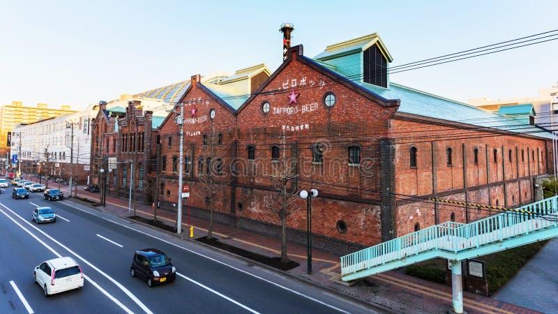 Sapporo fabryka obraz stock