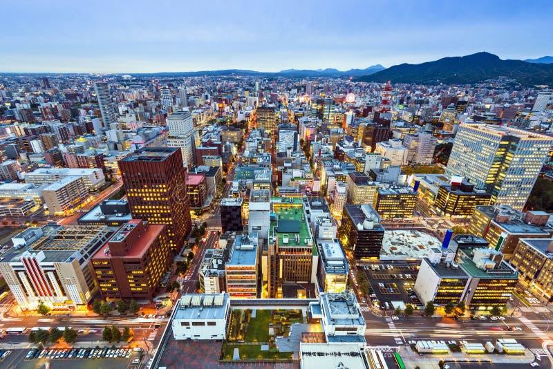 Sapporo Japón imagen de archivo libre de regalías