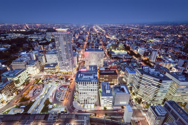 Sapporo, Japan stockbilder