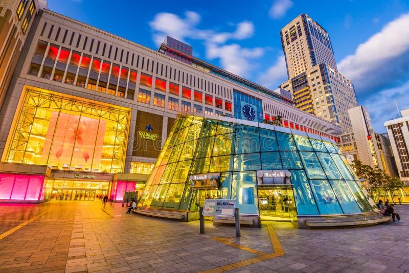 Sapporo stacja Japonia fotografia stock