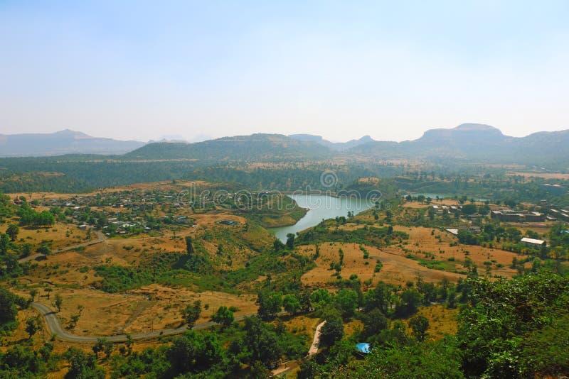Saputara, un punto turistico nel Gujarat India immagini stock libere da diritti