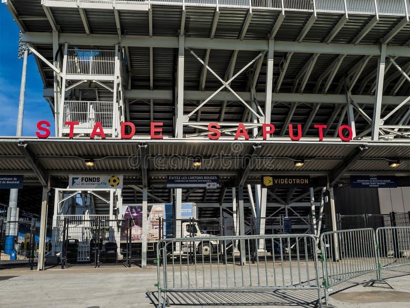 Saputo-Stadion stockbild