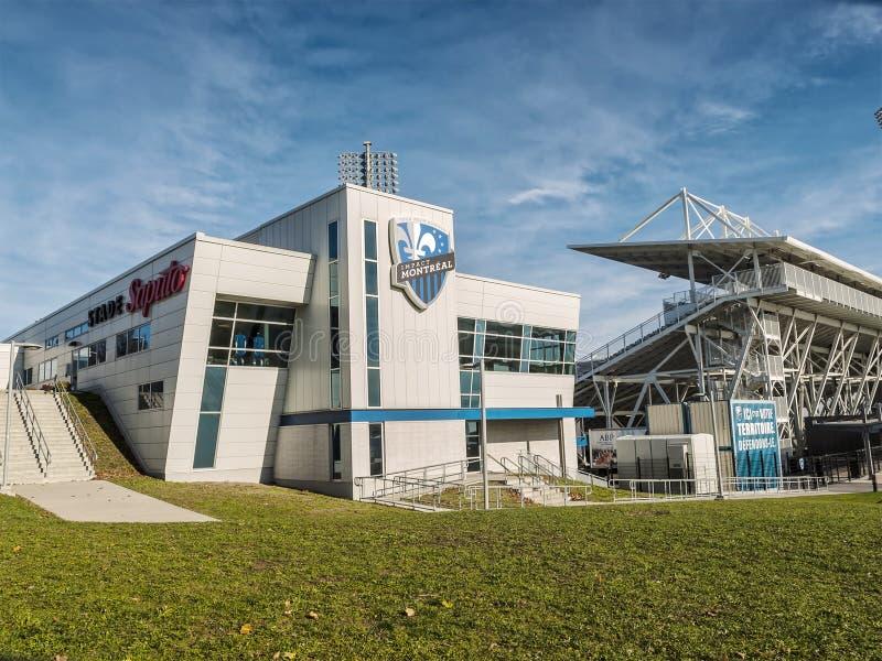 Saputo-Stadion lizenzfreie stockfotografie