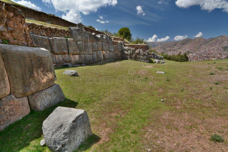 Saqsaywaman Cusco peru images stock