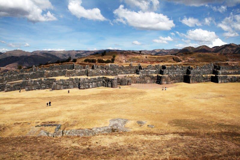 Saqsaywaman d'Inca image stock