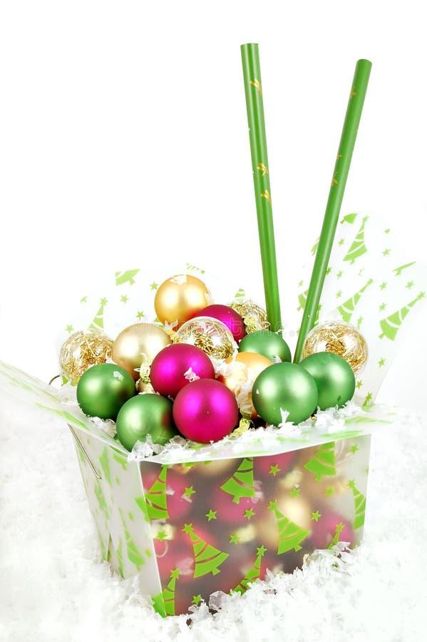 Saque la Navidad imagen de archivo