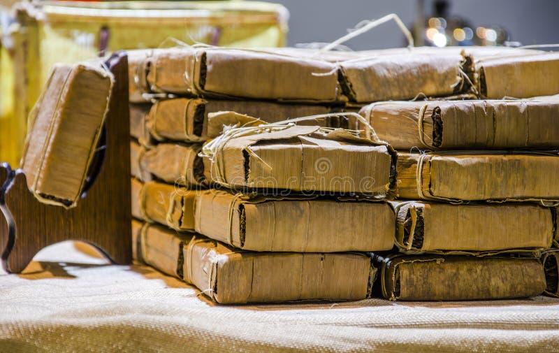 Saquinhos de chá para embalar foto de stock royalty free