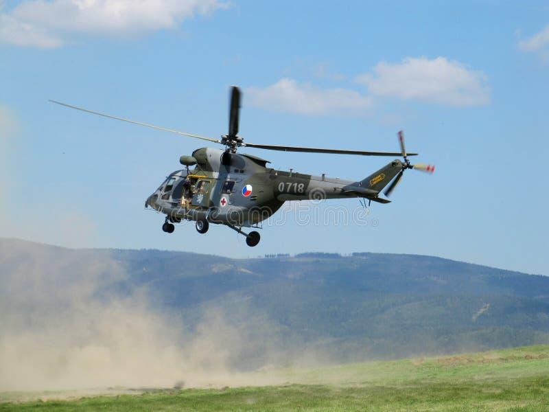 Sar-helikopter royaltyfria foton