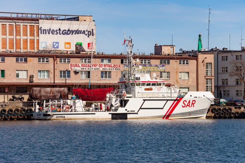 SAR - rescue boat stock image
