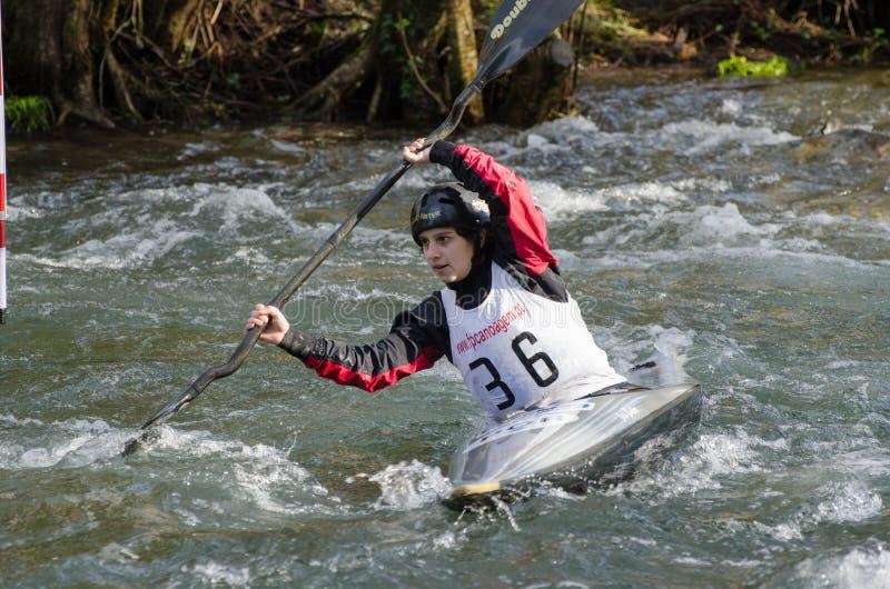 Download Sara Bastos foto editorial. Imagem de slalom, exercício - 29834781
