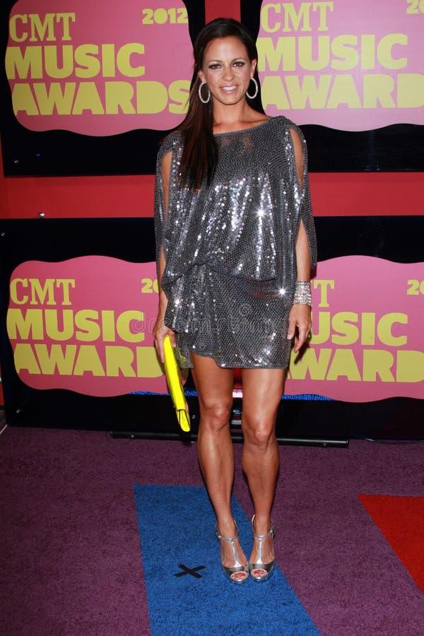 Sara Evans an den 2012 CMT Musik-Preisen, Bridgestone-Arena, Nashville, TN 06-06-12 lizenzfreie stockfotografie